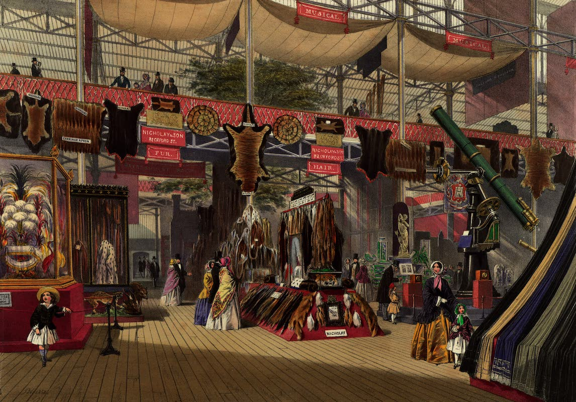 Dickinsons' Great Exhibition of 1851 - Furs (1852)