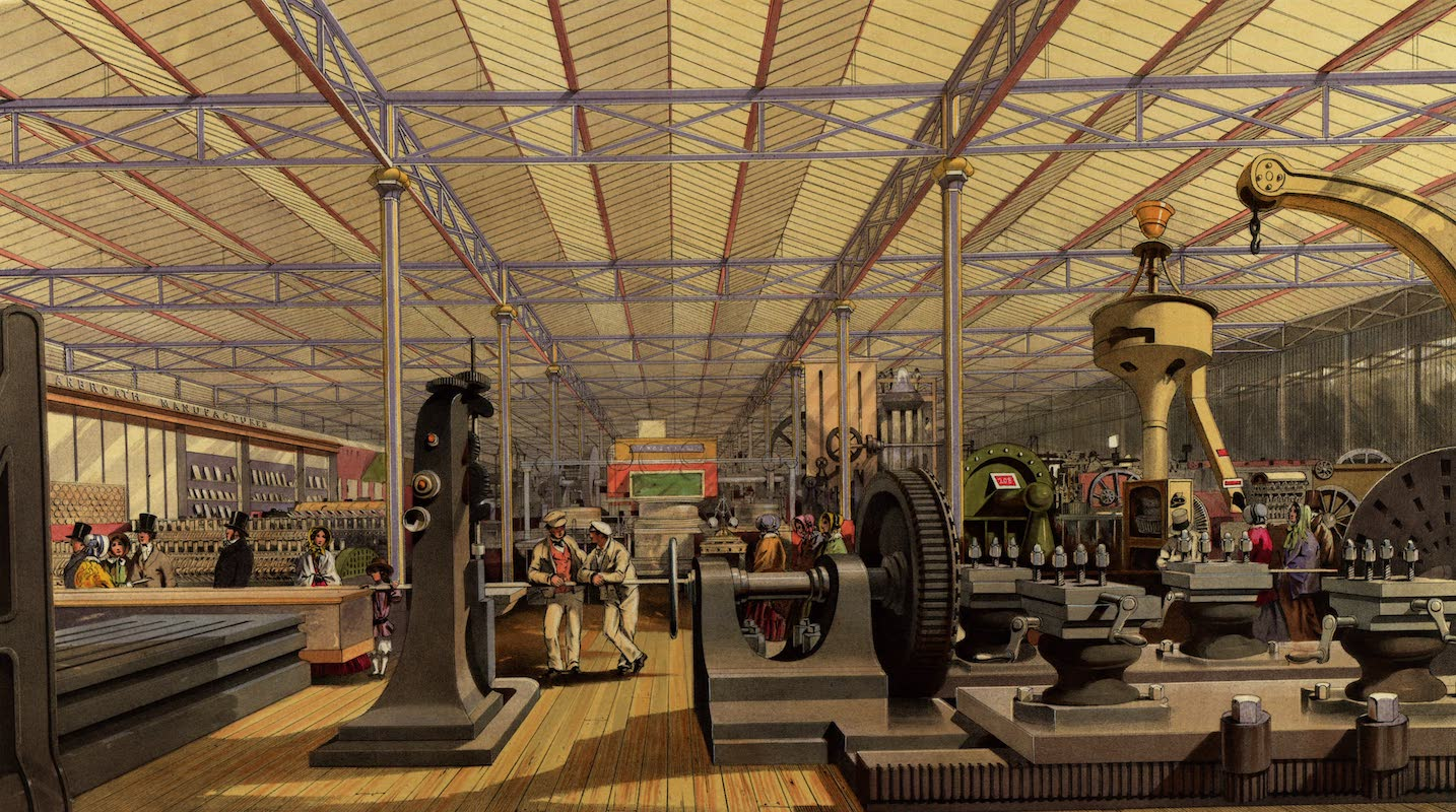 Dickinsons' Great Exhibition of 1851 - Moving Machinery (1852)