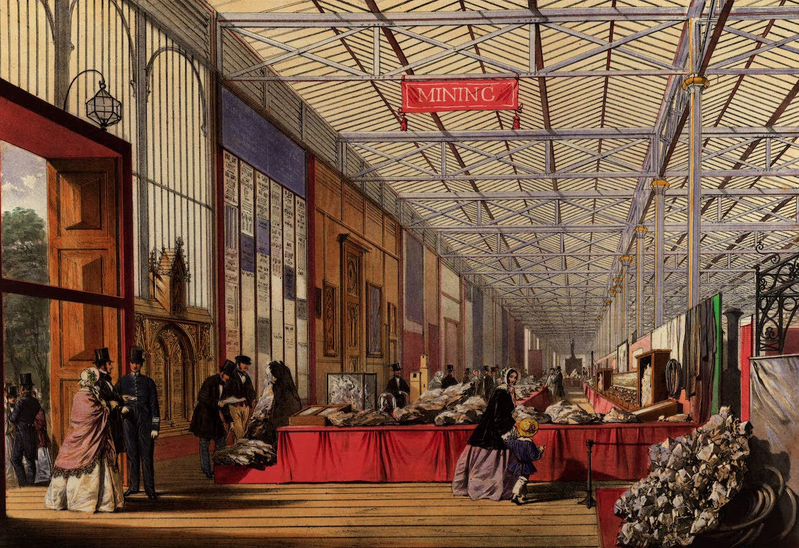 Dickinsons' Great Exhibition of 1851 - Minerals (1852)