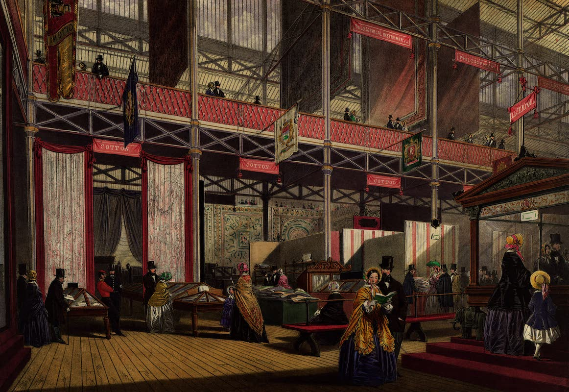 Dickinsons' Great Exhibition of 1851 - Liverpool (Cotton, Carriages, etc.) (1852)