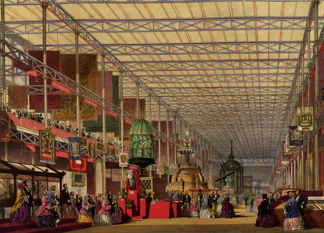 Dickinsons' Great Exhibition of 1851 - The British Nave (1852)