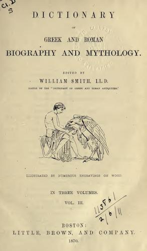English - Dictionary of Greek and Roman Biography and Mythology Vol. 3