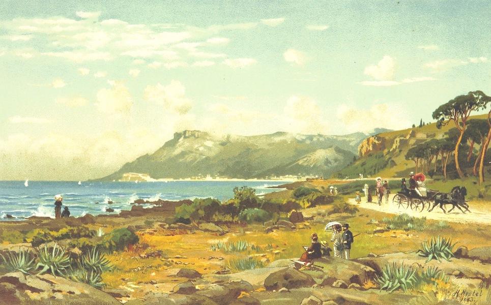 Die Riviera: Wanderziele und Winterasyle - Monaco, vom Cap Martin bei Mentone gesehen (1884)