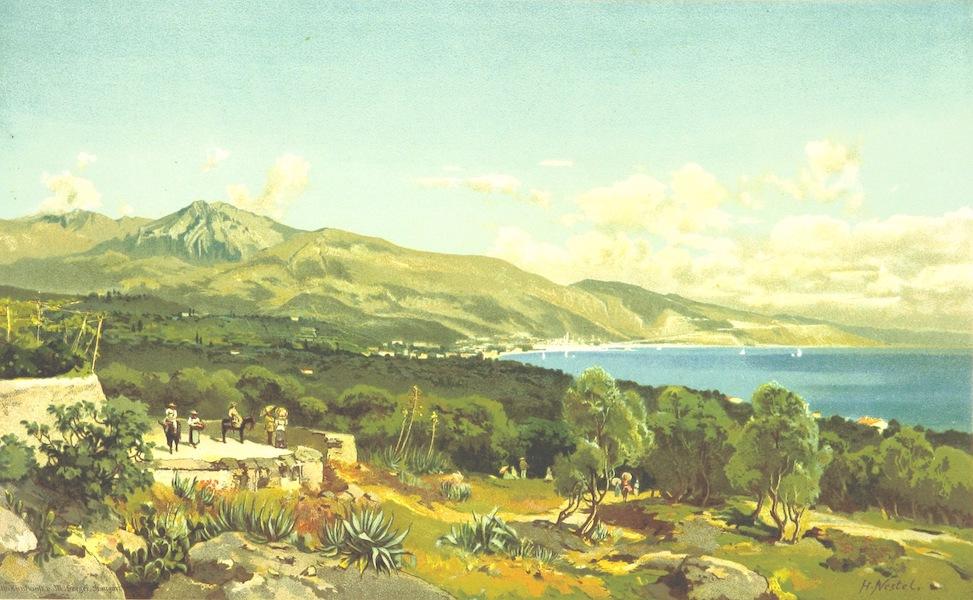 Die Riviera: Wanderziele und Winterasyle - Mentone (1884)