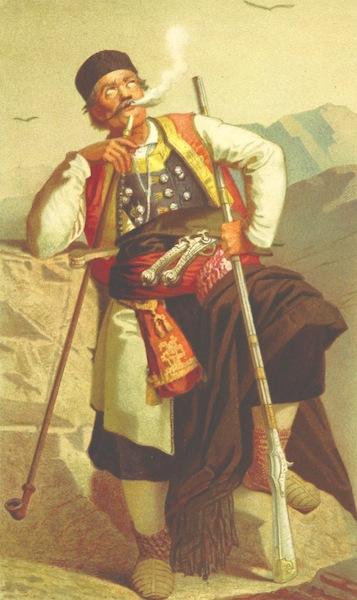 Die Serben an der Adria - Montenegriner (1870)
