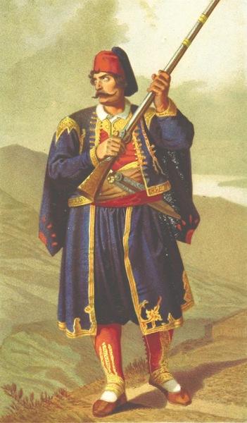 Die Serben an der Adria - Ein Mann aus Jmotiza (1870)