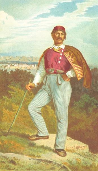 Die Serben an der Adria - Mann aus Santa Eufemia (1870)