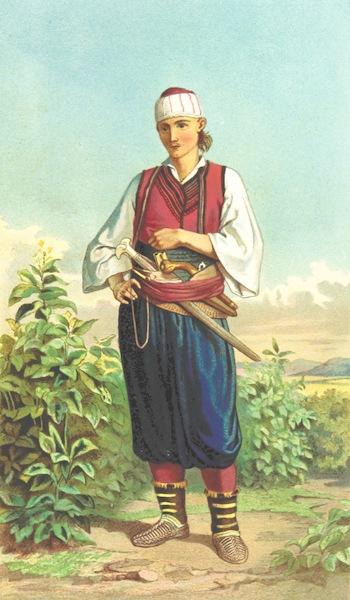Die Serben an der Adria - Mann aus Doljane (1870)