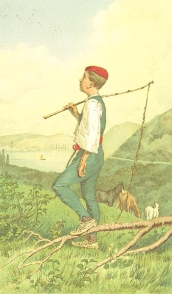 Die Serben an der Adria - Knabe aus der Umgegend von Sebenico (1870)