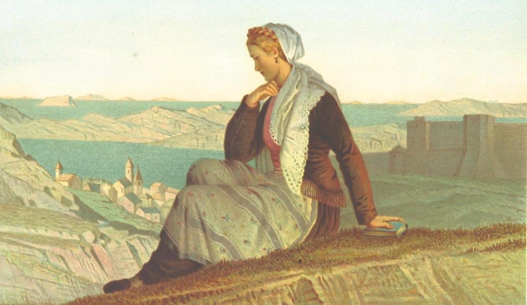 Die Serben an der Adria - Frau aus Sebenico (1870)