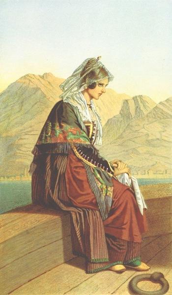 Die Serben an der Adria - Frau aus Cattaro (1870)