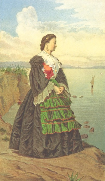Die Serben an der Adria - Madchen aus Spalato (1870)