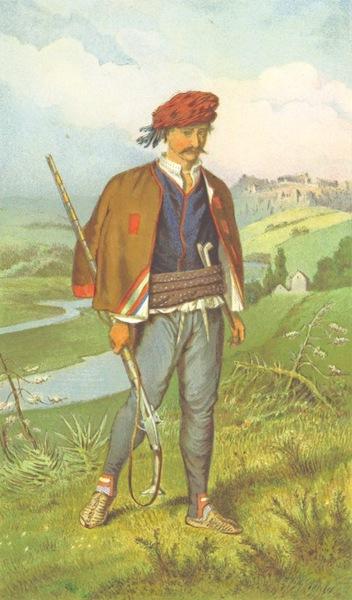 Die Serben an der Adria - Mann aus Knin (1870)
