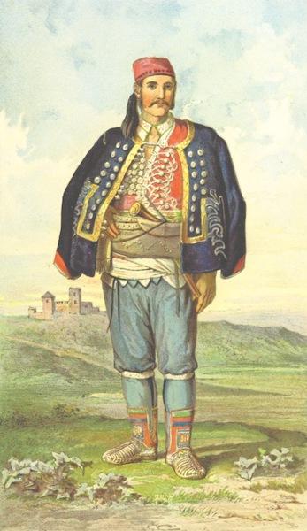 Die Serben an der Adria - Mann aus Benkovac (1870)