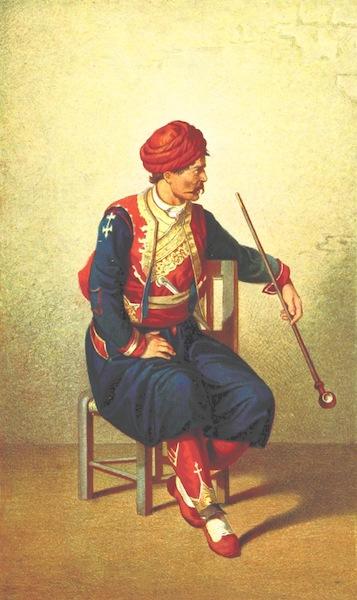 Die Serben an der Adria - Mann aus Ragusa (1870)
