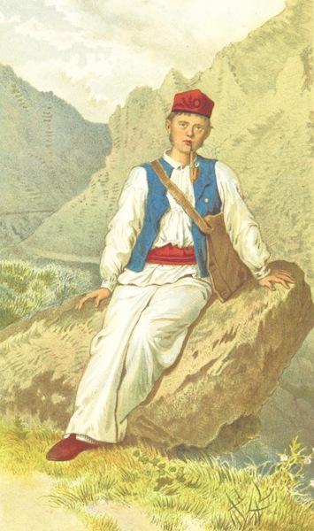 Die Serben an der Adria - Mann aus der Umgebung von Zengg (1870)