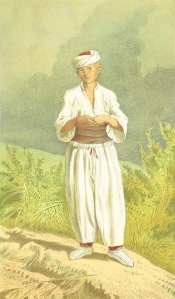 Die Serben an der Adria - Mann von der Turkischen Grenze bei Verlika (1870)