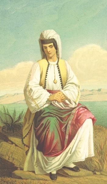 Die Serben an der Adria - Vornhme Montenegrinerin (1870)