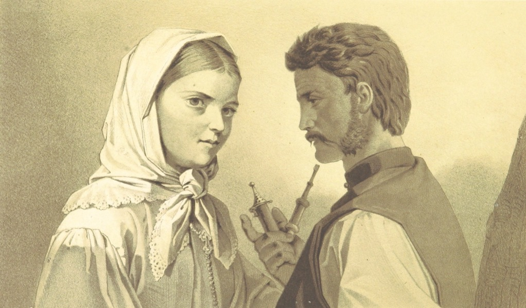 Die Serben an der Adria - Grenzertypen (1870)