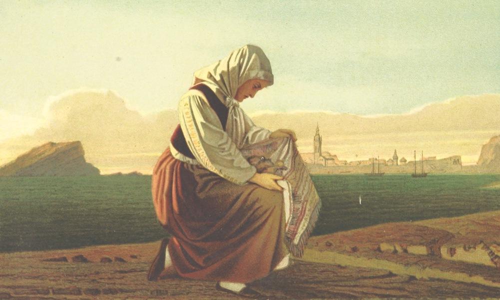 Die Serben an der Adria - Frau aus Budua (1870)