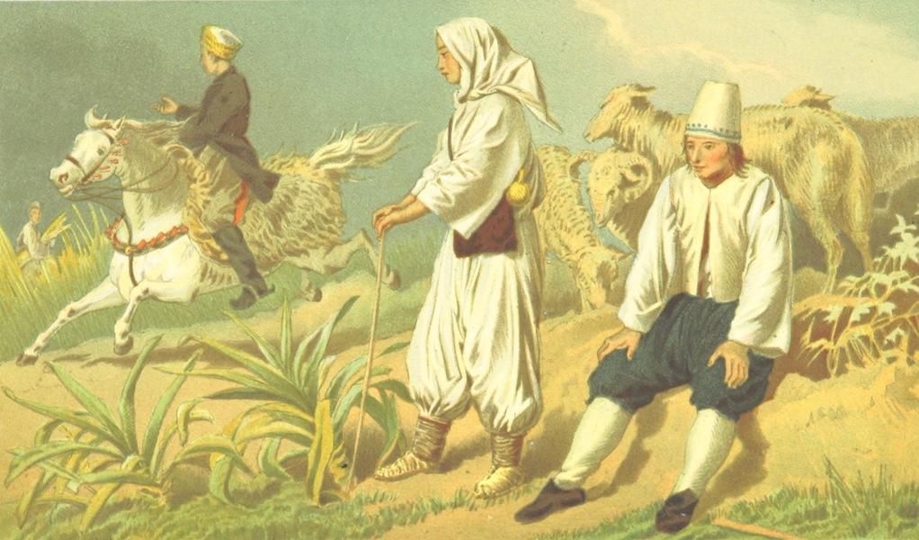 Die Serben an der Adria - Hirten bei Gaba (1870)
