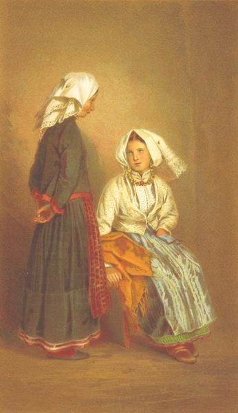 Die Serben an der Adria - Frauen aus Pago (1870)