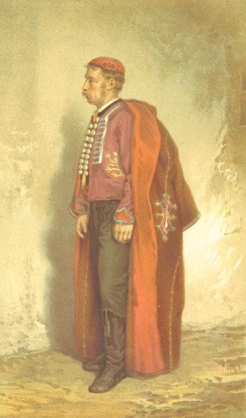 Die Serben an der Adria - Ein Mann aus Pago in Sonntagsstaat (1870)