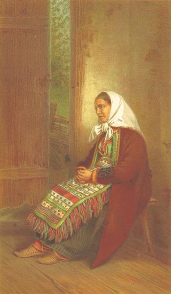 Die Serben an der Adria - Eine Frau aus Carlopago (1870)