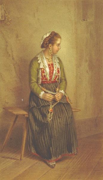 Die Serben an der Adria - Eine Frau aus den Castelli (1870)