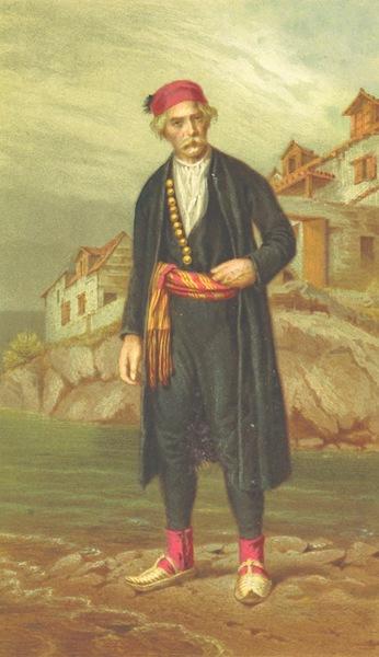 Die Serben an der Adria - Mann aus den Castelli (1870)
