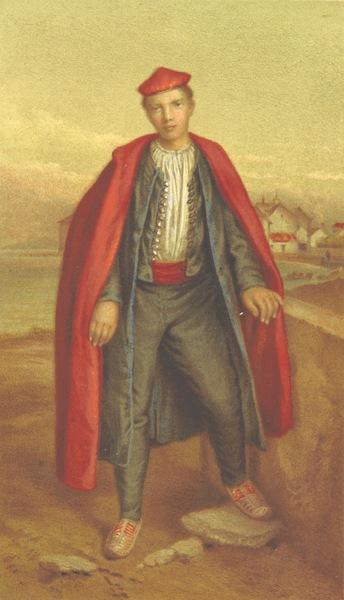 Die Serben an der Adria - Ein Jungling aus Spalato (1870)