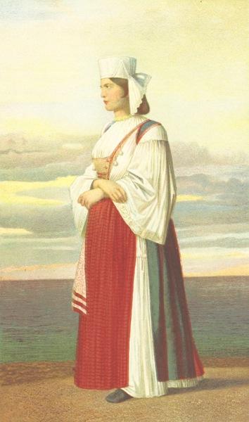 Die Serben an der Adria - Frau aus Sind (1870)