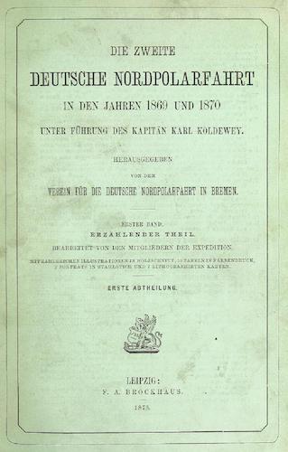 Die zweite Deutsche Nordpolarfahrt Vol. 1
