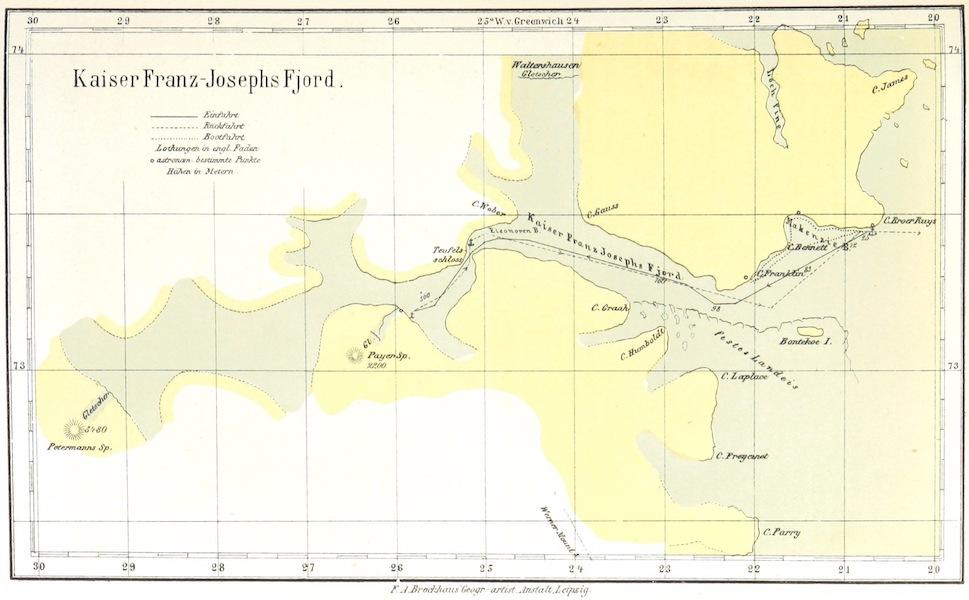 Die zweite Deutsche Nordpolarfahrt Vol. 1 - Kaiser Franz-Josephs Fjord (1873)