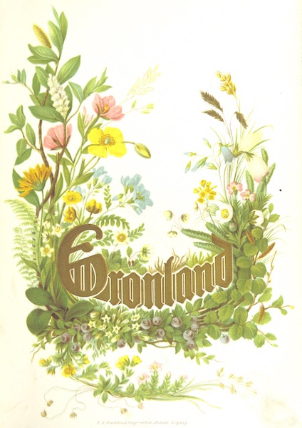 Die zweite Deutsche Nordpolarfahrt Vol. 1 - Illustrated Title Page (1873)