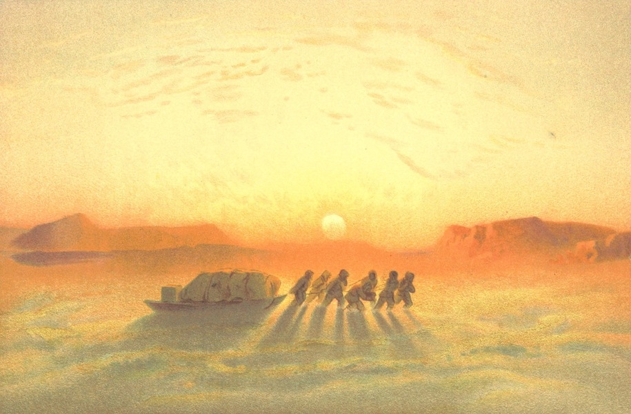 Die zweite Deutsche Nordpolarfahrt Vol. 1 - Scene der Schlittenreise nach Norden (1873)