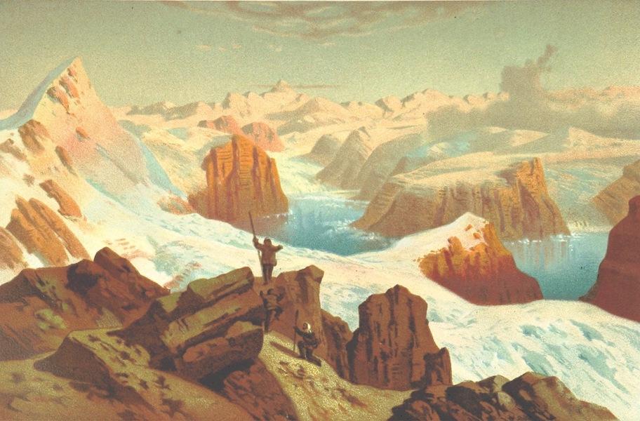 Kaiser-Franz-Josephs-Fjord und die Petermanns-Spitze