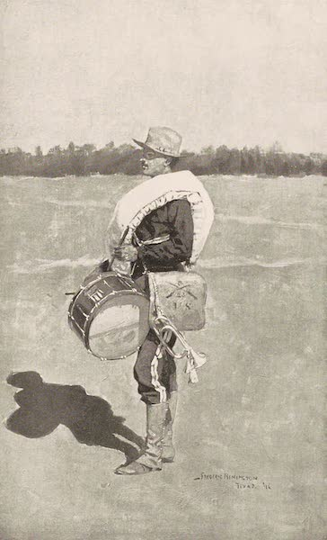 Drawings by Frederic Remington - A Wind Jammer (1897)