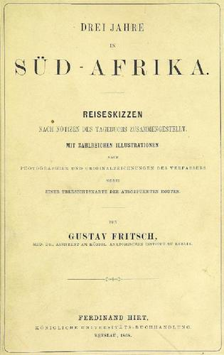 Aquatint & Lithography - Drei Jahre in Sud-Afrika