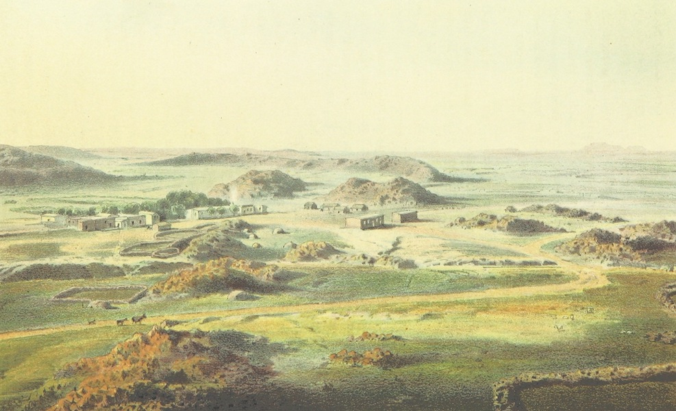 Drei Jahre in Sud-Afrika - Bethanien im Orange Freistaat Berliner Missionsstation (1868)