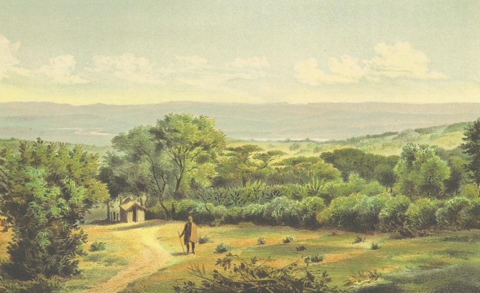 Drei Jahre in Sud-Afrika - Aussicht von der Berea Nach dem Umgeni Thal (1868)
