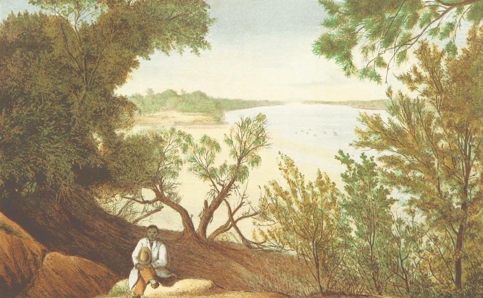 Drei Jahre in Sud-Afrika - Zusammenfluss des Nu-Und Kei Gairb Junction (1868)