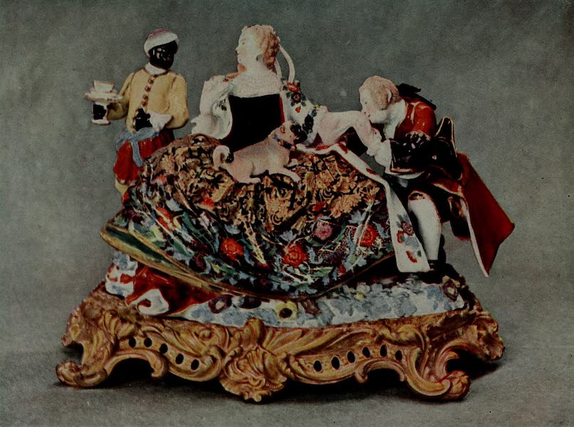 Dresden China - A Crinoline Group (1909)
