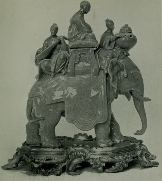 Dresden China - The Elephant and Censer (1909)