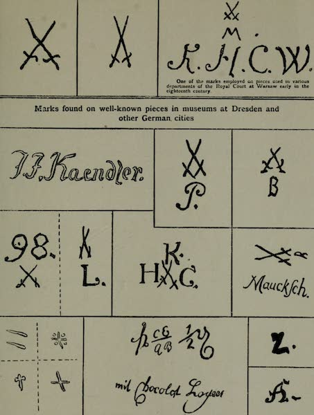 Dresden China - Factory Marks [IV] (1909)