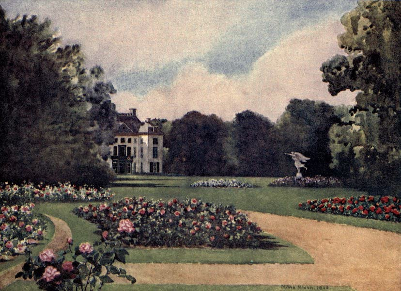 Dutch Bulbs and Gardens, Painted and Described - Het Loo (1909)