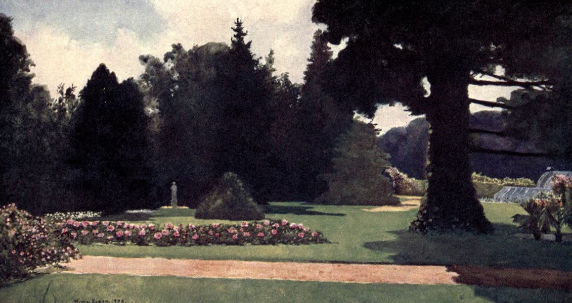 Dutch Bulbs and Gardens, Painted and Described - Palace Gardens, Het Loo (1909)