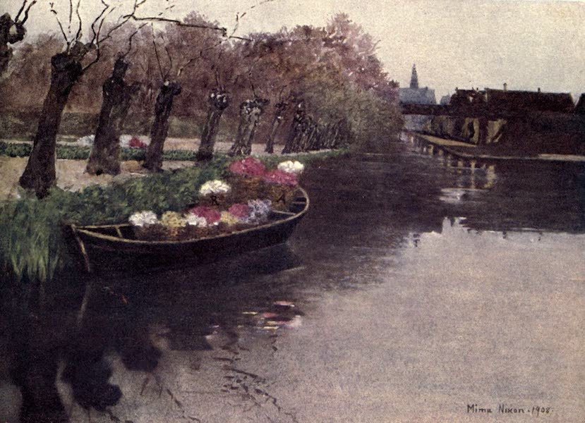 Dutch Bulbs and Gardens, Painted and Described - Hyacinth Flowers going to Market (1909)