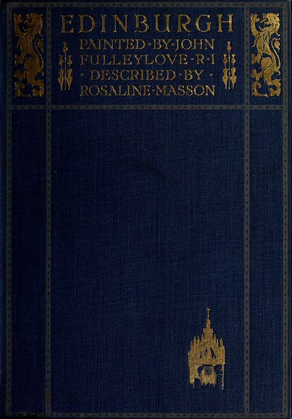 Edinburgh Painted and Described - Front Cover (1904)