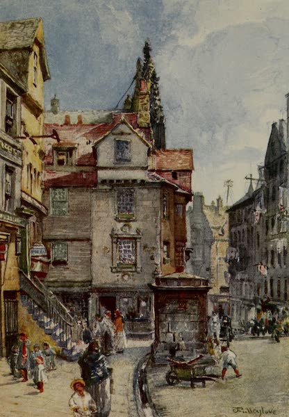 Edinburgh Painted and Described - John Knox's House, High Street (1904)